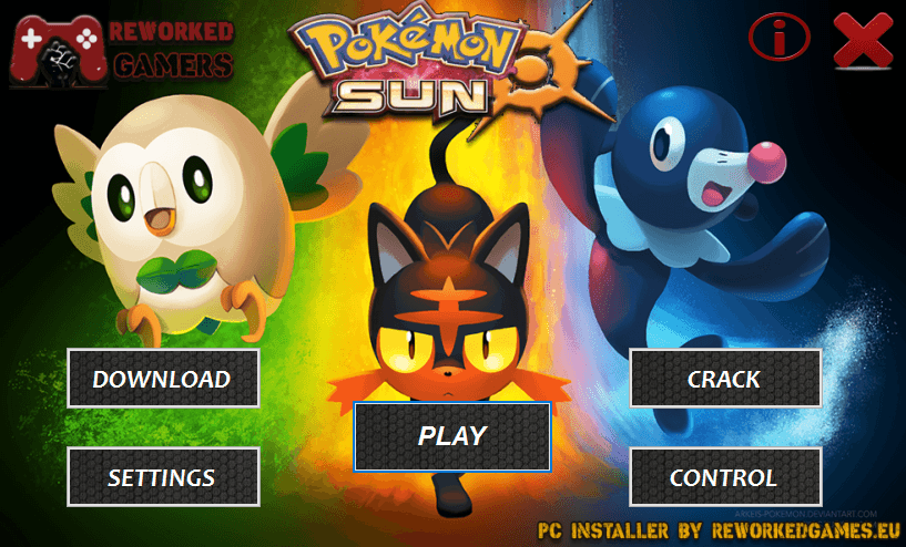 pokemon sun pc download installer reworked games. Black Bedroom Furniture Sets. Home Design Ideas