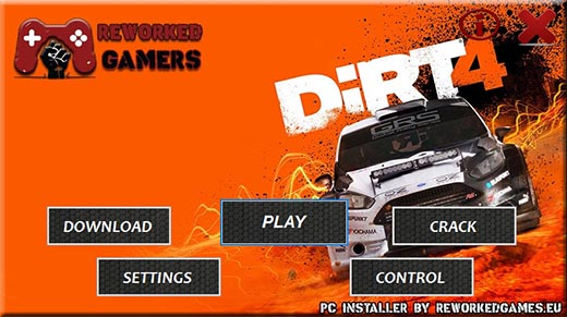 DiRT 4 PC Manage Download