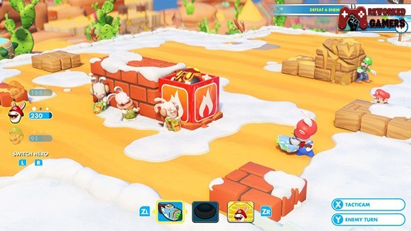 Mario Rabbids Kingdom Battle on PC Full Download