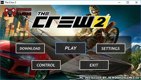 The Crew 2 PC Installer Menu