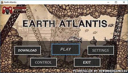Earth Atlantis PC Installer Menu