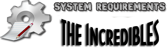LEGO The Incredibles System Requirements