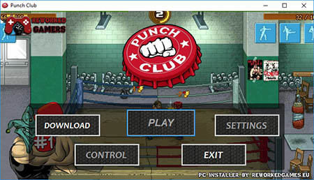 Punch Club PC Installer Menu