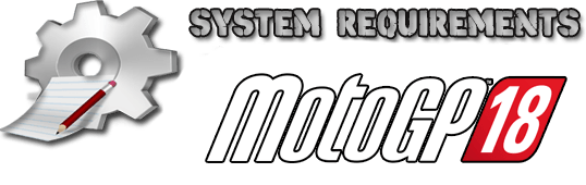 MotoGP 18 System Requrements