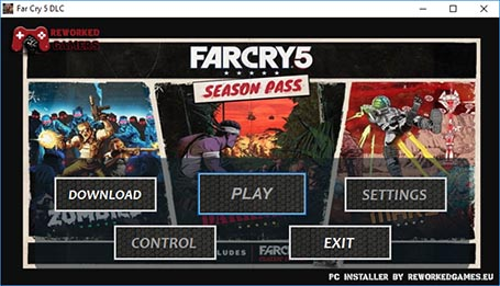 Far Cry 5 dlc menu installer