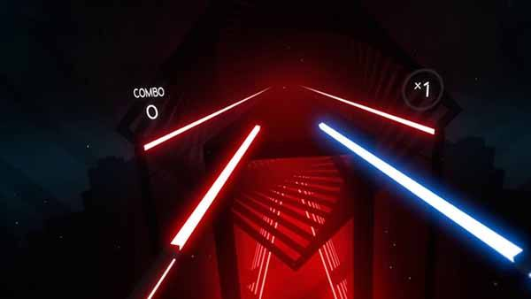 Beat Saber Screen Game