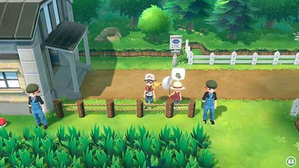 Pokemon Let's Go Pikachu Screen 1