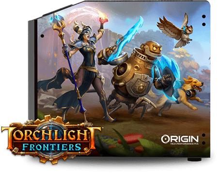 Torchlight Frontiers Download Screen