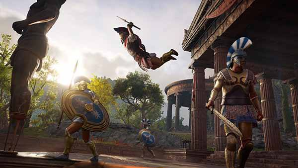Assassins Creed Odyssey Download Screen