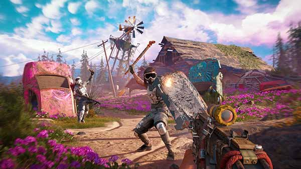Far Cry New Dawn Screen Game