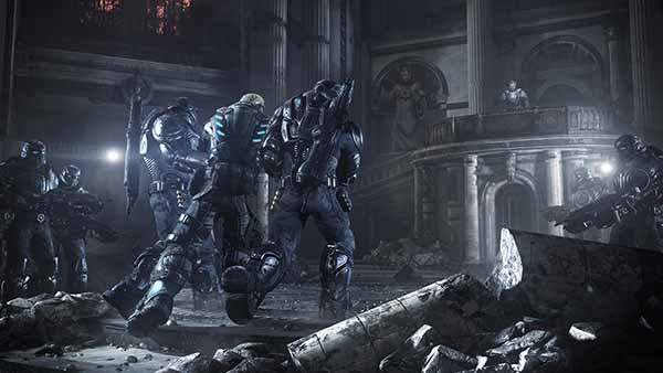 Gears 5 Download Screen